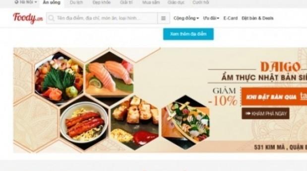 Vietnam's food service startup Foody raises Series B funding from Singapore's Garena - DealStreetAsia
