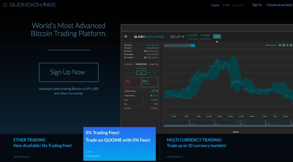 Singapore: Bitcoin exchange Quoine raises $20m venture investment - DealStreetAsia