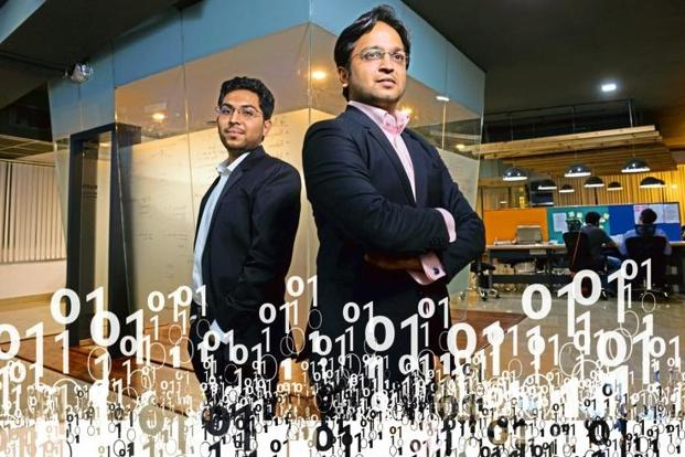 Locus.sh founders Geet Garg and Nishith Rastogi