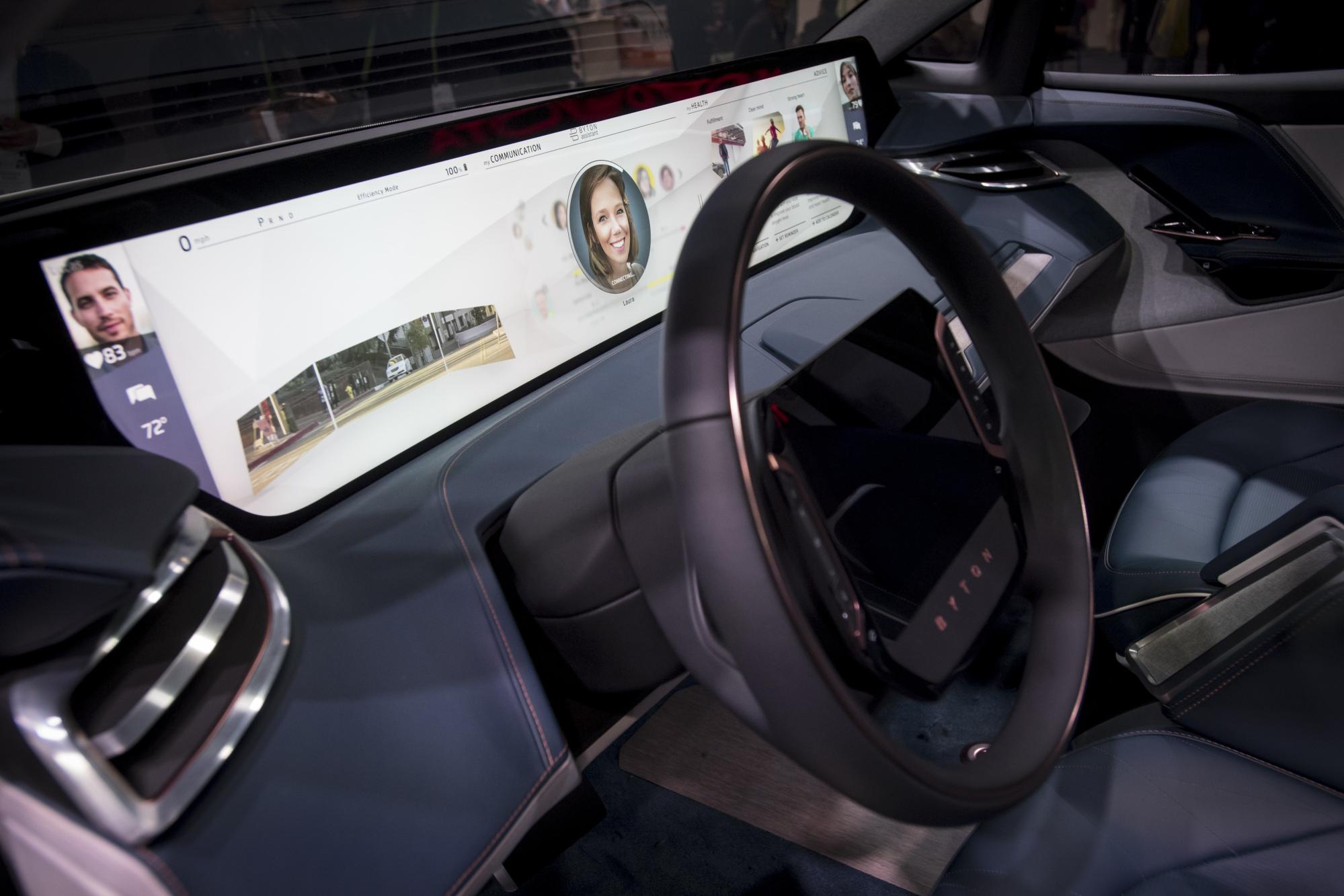 chinese electric car startup byton hires former goldman banker. Black Bedroom Furniture Sets. Home Design Ideas